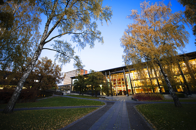 Picture of University of Oslo Library