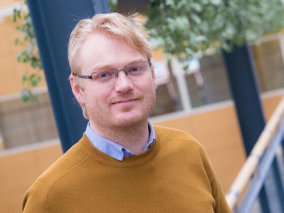 Førsteamanuensis Gerard Doetjes. Foto: Sandra R. Nielsen/ ILS.