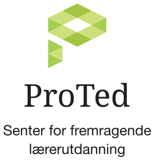 Logo Proted Senter for fremragende ærerutdanning