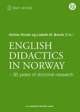Omslag av boka «English Didactics in Norway- 30 years of doctoral research»