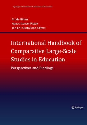 Bokomslag til nternational Handbook of Comparative Large-scale Assessment in Education. An extensive review of perspectives and findings