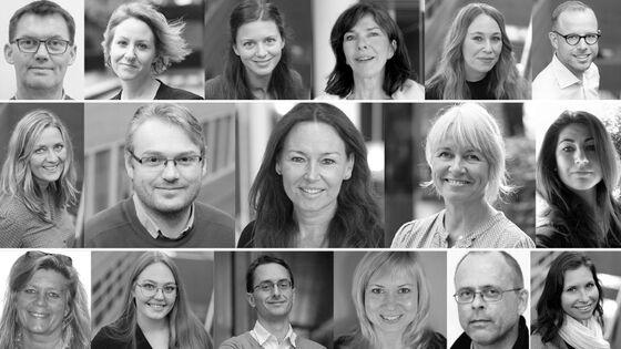 Collage med bilder av prosjektdeltagerne. Liste med navn på deltakerne finnes nederst i saken (illustrasjon: S. Colvin/UV. Foto: UV/privat).