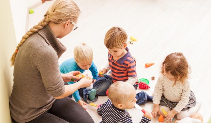 Det usynlege arbeidet i barnehagen