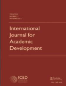 international-journal-for-academic-development