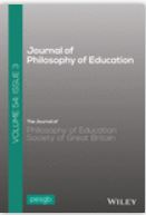 journal-of-philosophy-of-education