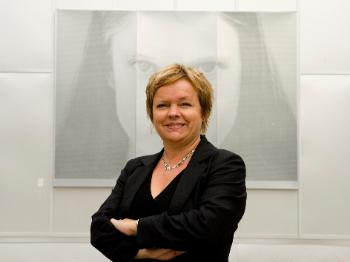 Picture of Eva Hjörne, professor 2 at the Department of Special needs Education