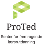Logo ProTed Senter for fremragende utdaning